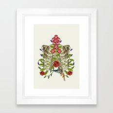 Science Illustration Framed Art Print
