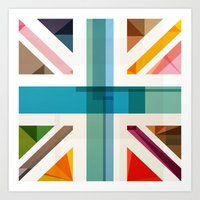 MultiCultural Britain Art Print
