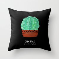 Ball Cactus Single Throw Pillow