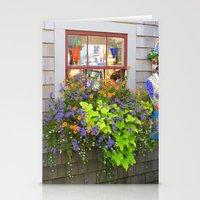 Nantucket Window box Stationery Cards