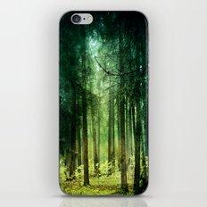 Enchanted light iPhone & iPod Skin