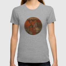 Window Womens Fitted Tee Athletic Grey SMALL