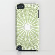 Green Mandala iPod touch Slim Case