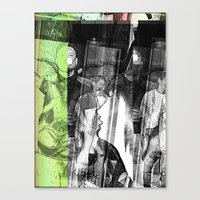 Stop Lookinf Canvas Print