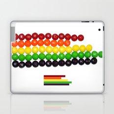 Skittle Stats Laptop & iPad Skin