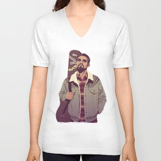 80/90s - K. Dr V-neck T-shirt
