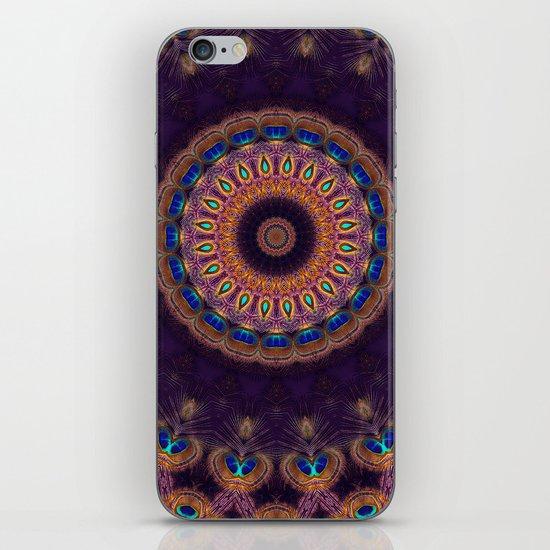 Jewelled Peacock iPhone & iPod Skin