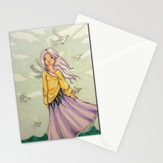 We Angels Don't Fly Stationery Cards