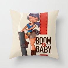 Boom Beach Fan Art - Zoo… Throw Pillow