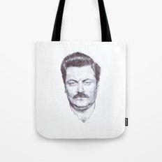 Ron Fucking Swanson Tote Bag