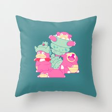 Slow Your Role Throw Pillow