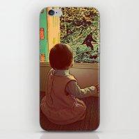 Hello Bigfoot! iPhone & iPod Skin