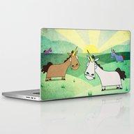 Grazing Unicorns V02 Laptop & iPad Skin