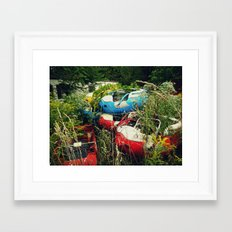 The Abandoned Enchanted Forest Playland Framed Art Print