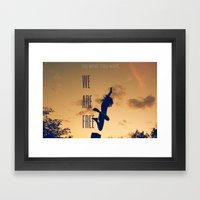 FREE (with Text) Framed Art Print