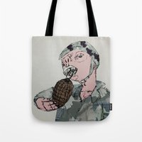 This Is War By Debbie Po… Tote Bag