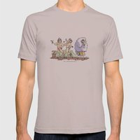 Sheepish  Mens Fitted Tee Cinder SMALL