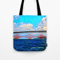 Two Bridges Tote Bag