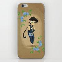 Retro Sailor Star Fighte… iPhone & iPod Skin