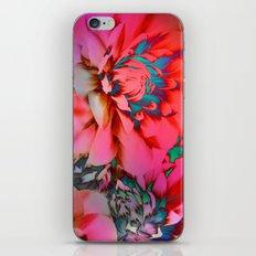 Proud Dahlias 2 iPhone & iPod Skin
