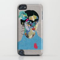 iPod Touch Cases featuring Frida by Zaneta Antosik