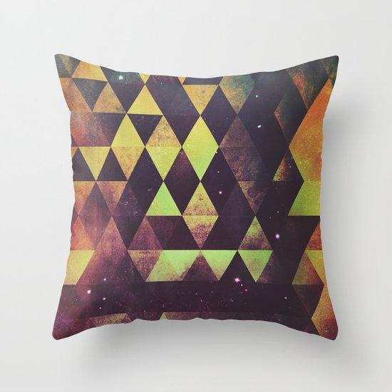 yrgyle nyyt Throw Pillow