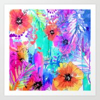 Hawaiian Heat Art Print