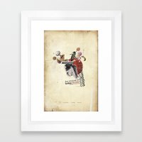 BeefEater Framed Art Print