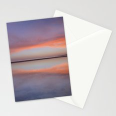 Purple reflections at the sea. Bolonia Stationery Cards