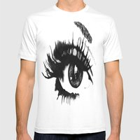 Locked inside Mens Fitted Tee White SMALL