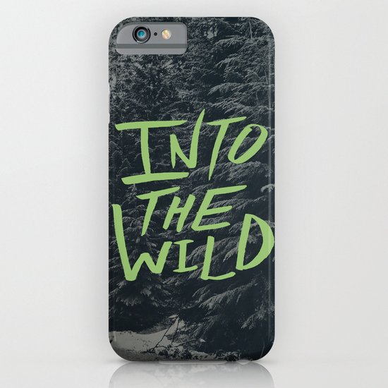 Into the Wild: Lost Lake iPhone & iPod Case