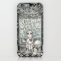 iPhone & iPod Case featuring The Boy With An Apple Where His Heart Should Be by Leyla Akdogan