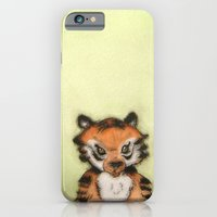 iPhone & iPod Case featuring Little Tiger by Lori Dean Dyment