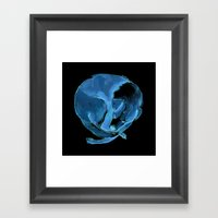Sleeping Dog Framed Art Print