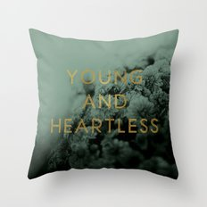 Heartless Throw Pillow