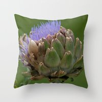 Artichoke 2 Throw Pillow