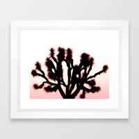 Random Joshua Tree Framed Art Print