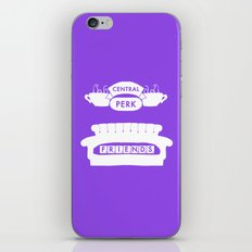 FRIENDS - CENTRAL PERK iPhone & iPod Skin