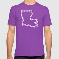 Ride Statewide - Louisia… Mens Fitted Tee Ultraviolet SMALL