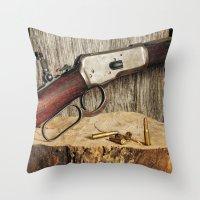 Winchester Model 53 Throw Pillow