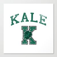 University Of Kale Canvas Print