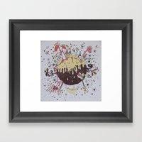 The Strange Planet Framed Art Print