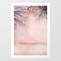 Rosa Winter Art Print
