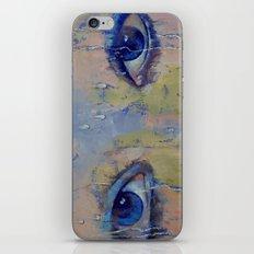 Raindrops iPhone & iPod Skin