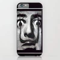 iPhone & iPod Case featuring I am drugs ( Salvador Dali ) by Black Neon