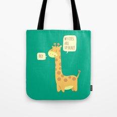 Giraffe problems! Tote Bag