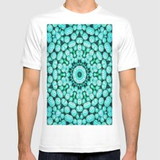 Cactus Star SMALL Mens Fitted Tee White