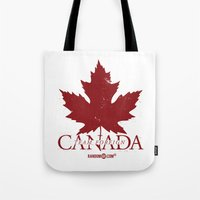 Team Foreign Canada Tote Bag
