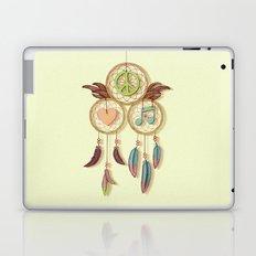 Peace, Love and Music Laptop & iPad Skin