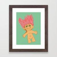 Troll, 2013. Framed Art Print